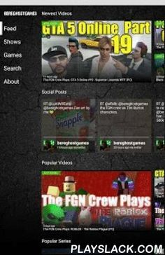 BereghostGames  Android App - playslack.com , BereghostGames covers the videogame industry with review and commentary on the latest games and on the latest platforms. Now take BereghostGames with you everywhere you go with this app for your Android handset.PERSONALIZE YOUR FEEDThe most popular and most recent videos flow into your feed already. To add content just click the plus signs and those videos get added to your feed. If you love 'Family Game Night' just click the plus sign and now…