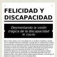 FELICIDAD Y DISCAPACIDAD