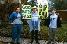 All of the times people joined the protest and changed its message:   35 Times The Westboro Baptist Church Lost Badly