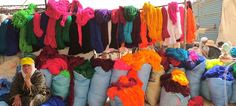 Morocco - wools in every colour