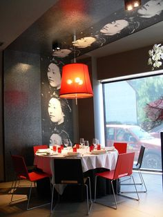 #Contract #Moderno #Cafeteria #Restaurante #Sillas #Mesas de comedor #Vidrio #Lamparas #Ventanas