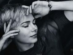I want to be like water. I want to slip through fingers, but hold up a ship. -Michelle Williams