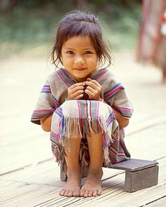 Little girl, northern Thailand  MS-1905  By Jim Zuckerman © Jim Zuckerman  BetterPhoto.com