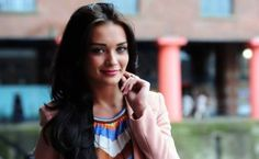 """Amy Jackson, the dazzling British girl who scored her first Bollywood hit with """"Singh Is Bling"""" has another reason to smile now. She's slowly cementing her foothold in Tamil industry as offers"""