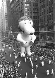 Vintage 1967, Aviator Snoopy, Macy's Thanksgiving Day Parade, NYC, www.RevWill.com