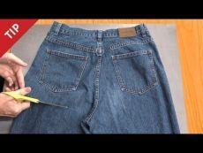 Вот что можно сделать из старых джинсов!
