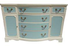 Custom-Painted Buffet on OneKingsLane.com