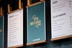 Eat Drink Design Awards Menu Signage, Wayfinding Signage, Signage Design, Menu Board Design, Menu Design, Design Ideas, Cafe Menu Boards, Digital Menu Boards, Fish And Chip Shop