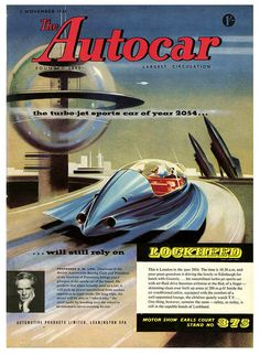 The Turbo-Jet Sports Car of 2054 (1954)