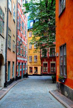 Gamla Stan / Old Town Stockholm, Sweden by Lars-Åke Sköld on 500px