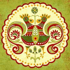 Folklore Mandalaart print von sevenstar auf Etsy, $21.00