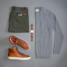 """6,357 Likes, 14 Comments - VoTrends® Outfit Ideas for Men (@votrends) on Instagram: """"Great casual Monday flat lay by @stylesofman featuring @koiocollective Follow for more:…"""""""