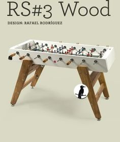 RS#3 Wood Football Table