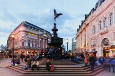Visit Picadilly Circus... even though it seems like the TImes Square of London.