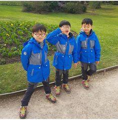 #Cr.g_sky_star #Daehan Minguk ManSe #LalitaMuangman #Song's Cute Triplets Song Il Gook, Triplet Babies, Superman Kids, Korean Tv Shows, Song Triplets, Song Daehan, Boy Hairstyles, Cute Faces, Baby Fever