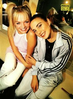 Baby and Sporty Spice