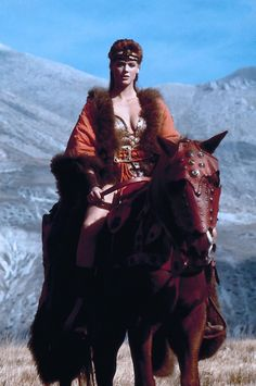 Red Sonja - Publicity still of Brigitte Nielsen. The image measures 1063 * 1600 pixels and was added on 3 June Fantasy Heroes, Fantasy Warrior, Fantasy Art, Barbarian Woman, Conan The Barbarian, Fantasy Movies, Fantasy Characters, Movie Characters, Red Sonja Movie