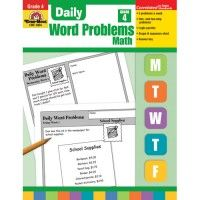 Gr 4 Daily Word Problems  - Teacher Store | Scholar's Choice