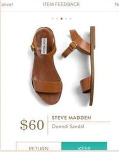 Steve Madden Donndi Sandal - stitch fix shoes! Ask you stylist for a pair of sandals like this for your next resort vacation! Spring & Summer fashion! #stitchfix #sponsored