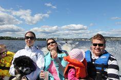 Frinds on a boat by VisitLakeland, via Flickr
