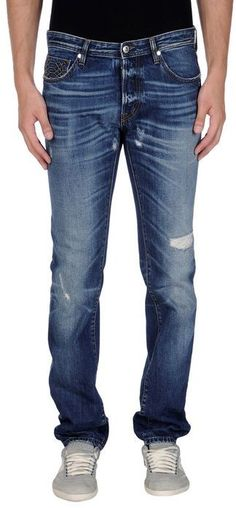 Just Cavalli Denim trousers on shopstyle.co.uk