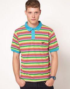 Voi Jeans Striped Polo Shirt