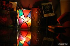 #DIY #candleholdr #stainedglass