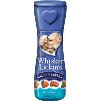 Whisker lickin s crunch lovers tuna flavored cat treats list price