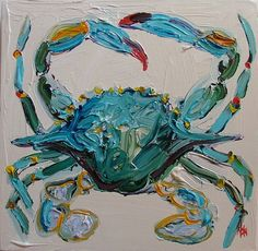 I like this crab very artistic