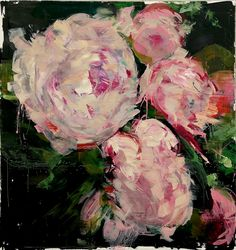 Gorgeous Palette Knife Paintings of Flowers by Carmelo Blandino - My Modern Metropolis