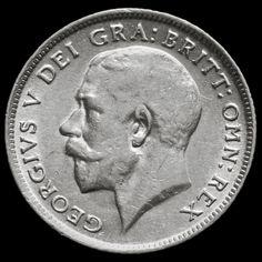 1917 George V Silver Sixpence – Rare – VF