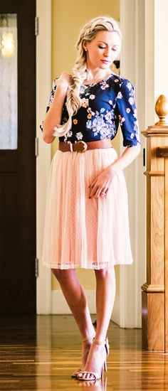 Tulle Full Skirt [MSS3710] - $34.99 : Mikarose Boutique, Reinventing Modesty