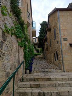 The Yemin Moshe neighborhood in Jerusalem