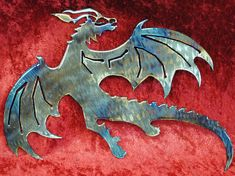 Check out this Etsy item! Hey, I found this really awesome Etsy listing at https://www.etsy.com/listing/456203822/dragon-flying-dragon-metal-dragon-wall #dragonmetalart #metalartcolorado #etsy