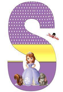 Alfabeto de Princesa Sofia con Fondo de Puntos Blancos. Sofia Birthday Cake, Princess Sofia Birthday, Sofia The First Birthday Party, Princess Party, Simple Cat Drawing, Princesa Sophia, Birthday Letters, Abc For Kids, Alphabet Design