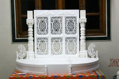 Ganesh Chaturthi Decoration Idea's for Home Decoration Makhar, Flower, Thermocol : - http://www.managementparadise.com/forums/general-talks/239035-ganesh-chaturthi-decoration-home-makhar-flower-thermocol.html