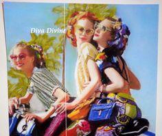 Décoration Vintage Rétro Bohème  Les belles par DivaDivinePastel