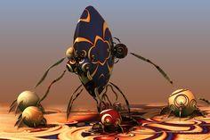 Aliens Love Their Children Too by batjorge.deviantart.com on @DeviantArt