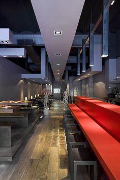 Nomo restaurant by Estudi Josep Cortina, Barcelona