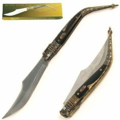 Whetstone Cutlery Old Style Spanish Tactical Pocket Knife Tactical Pocket Knife, Pocket Knives, High Fantasy, Weapons Guns, Moroccan Style, Folding Knives, Cutlery, Pocket Watch, Blade