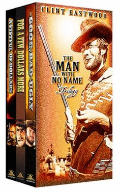 05eded4f5a5 I own more Clint Eastwood movies than anyone I know. I love his spaghetti  westerns. Actually