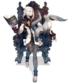 Arcanist - Pictures & Characters Art - Final Fantasy XIV: A Realm Reborn