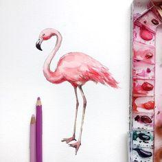 watercolor art, sketchbook by Watercolor Pictures, Watercolor Drawing, Watercolor Animals, Watercolor And Ink, Colorful Drawings, Cool Drawings, Handprint Art, Beautiful Drawings, Watercolor Techniques