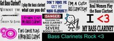 Bass Clarinet Collage