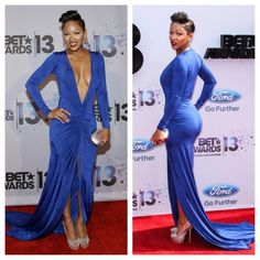 Megan Good- BET Awards 2013 tired of her with this hair Meagan Good Short Hair, Celebrity Beauty, Celebrity Style, Megan Good, Cool Short Hairstyles, Black Actresses, Sexy Ebony, Ebony Beauty, How To Pose