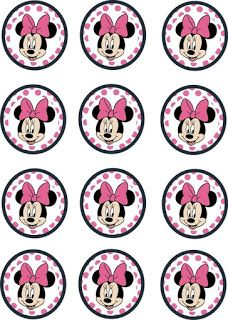 Edible Paper in Creatividades: MINNIE MOUSE PINK