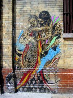 Street Art Par Swoon - New York City (NY)