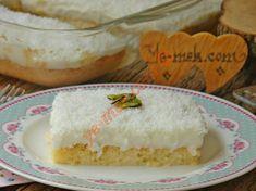 Gelin Tatlısı Resimli Tarifi - Yemek Tarifleri Easy Cake Recipes, Dessert Recipes, Desserts, Armenian Recipes, Mini Tart, Salty Foods, Pita Bread, Turkish Delight, Sweet And Salty