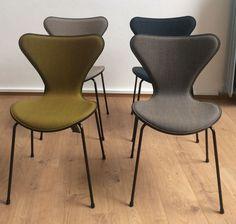 4 x 3107 Stuhl mit Frontpolsterung - Arne Jacobsen - Fritz Hansen - Markanto.de in Antiquitäten & Kunst, Design & Stil, 1950-1959 | eBay