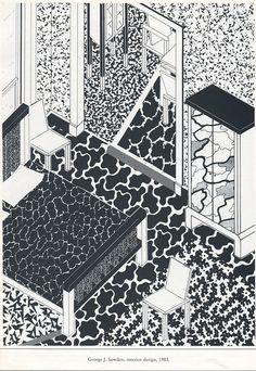 George J. Sowden: Interior design, 1984